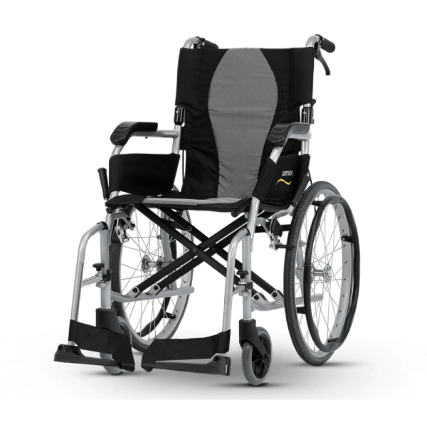 Karma® Ergo Lite 2 (KM-2512) Ultralight Manual Aluminum Transport WheelchairKM-2512-910x840_0000_TW-KM-2512-w800