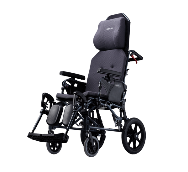 Karma® MVP 502 (KM-5000.2) Reclining Manual Transport Wheelchair