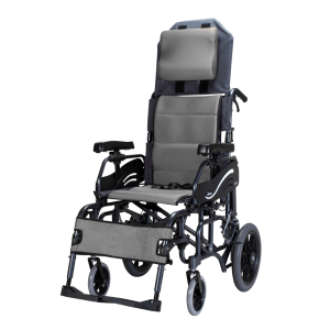 Karma® VIP 515 (KM-1520.3T) Tilt-In-Space Reclining Manual Transport Wheelchair