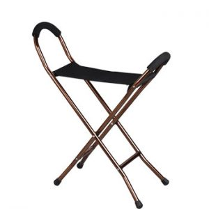 Schafer Supporto Walking Stick with Seat (SK-13SEAT)