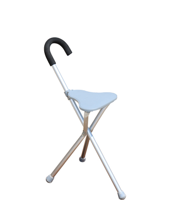 Schafer Supporto Walking Stick with Seat (SK-12SEAT)