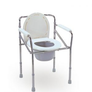Schafer Sanicare Commode Chair (CS-270 STEEL)