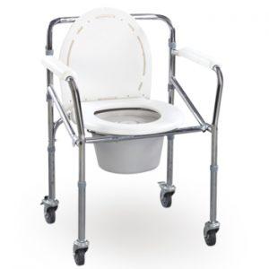Schafer Sanicare Commode Chair (CS-290 STEEL)