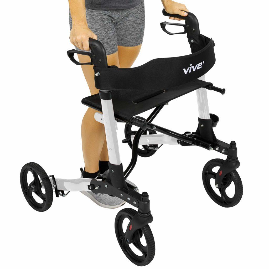 Best 4 Wheel Walker With A Seat In 2019 187 Wheelchair