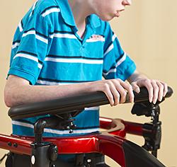 boy using red Rifton Pacer