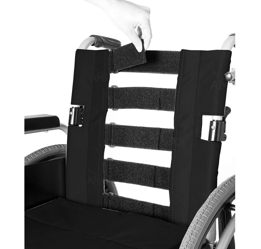 Karma KM-8020X Durable Aluminium Extra-Wide Seat Manual Wheelchair