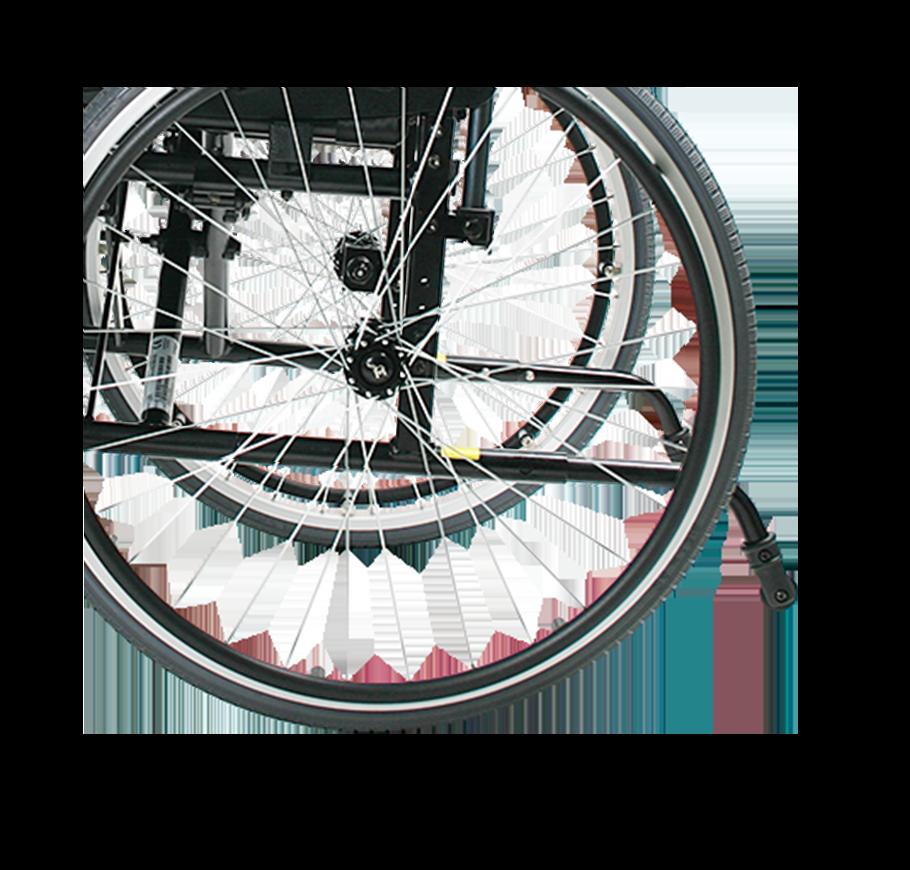 Karma KM-8520 Durable Aluminium Manual Wheelchair