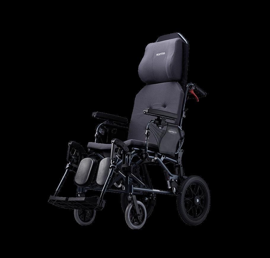 "Karma MVP 502 Reclining Manual Wheelchair (14""Rear Wheel)"