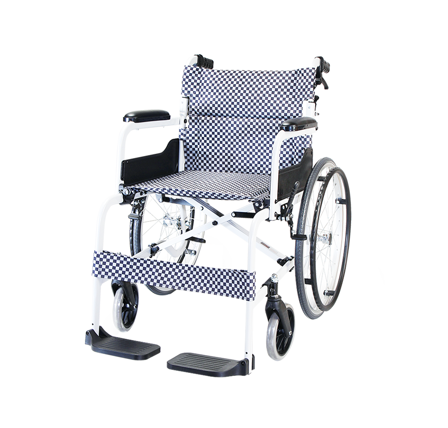 "Karma SOMA 105 Economical Aluminium Manual Wheelchair (22""Rear Wheel)"