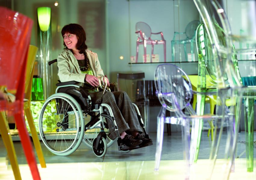 wheelchair wide